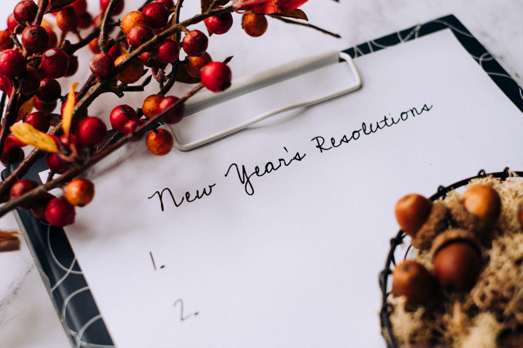 New Year's Resolutions for Photography